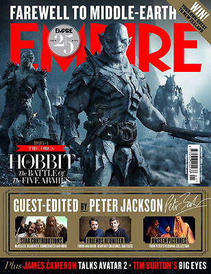 Empire Magazine January 2015 - The Hobbit Battle of the Five Armies - The Orcs