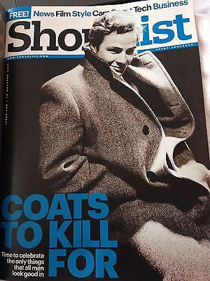 (UK) SHORTLIST MAGAZINE OCTOBER 2015 MARLON BRANDON PHOTO COVER ZINEDINE ZIDANE
