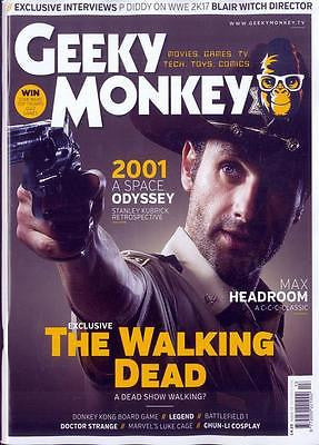 ANDREW LINCOLN - THE WALKING DEAD Exclusive Geeky Monkey Magazine NEW