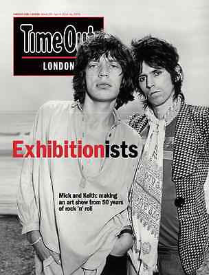 (UK) TIME OUT MAGAZINE March 2016 Rolling Stones MICK JAGGER Keith Richards