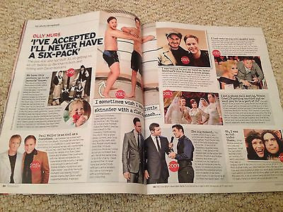 Eastenders JAKE WOOD PHOTO COVER interview UK Magazine NOVEMBER 2014 OLLY MURS