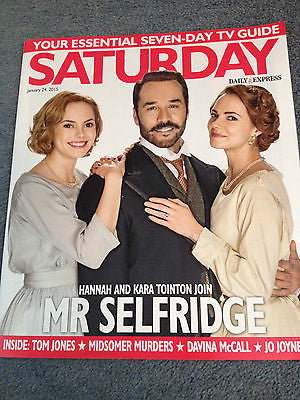 SATURDAY Magazine January 2015 JEREMY PIVEN TOM JONES ROBIN STEWART TISHA MERRY