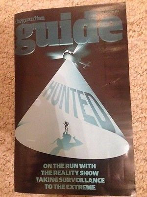 (UK) GUIDE MAGAZINE AUGUST 2015 HUNTED JON BERNTHAL MATTHEW RHYS