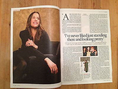 SEVEN MAGAZINE AUGUST 2014 LIV TYLER PHOTO INTERVIEW JOHN SWEET SHEILA SIM