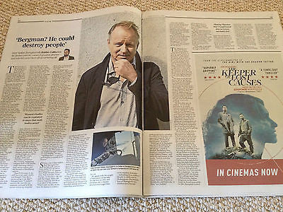 Telegraph Review August 2014 Stellan Skarsgard interview Colin Firth Emma Stones