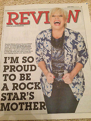 Sunday Express Review June 2016 - DENISE WELCH PHOTO COVER INTERVIEW