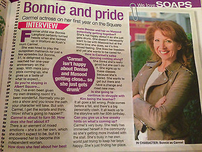 We Love TV Magazine 06/2016 BONNIE LANGFORD PHOTO INTERVIEW JUDGE RINDER