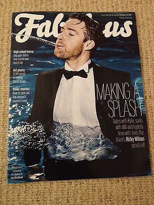 RICKY WILSON interview KAISER CHIEFS UK 1 DAY ISSUE 2014 BRAND NEW