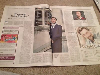Sherlock MARK GATISS PHOTO INTERVIEW MAGAZINE 2015 RICHARD MADDEN JULIE ANDREWS