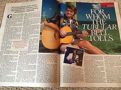 Event Magazine 01/2017 Mike Oldfield Tubular Bell Photo Interview