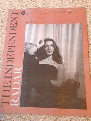 RACHEL WEISZ interview DANIEL CRAIG UK 1 DAY ISSUE 2015 PATTI SMITH TED HUGHES