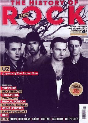 Uncut: The History of Rock magazine #23 1987 U2 Bono The Cure George Michael