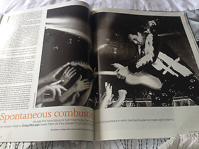 ARCADE FIRE PHOTO COVER INTERVIEW TELEGRAPH MAGAZINE june 2014 ROD LAVER
