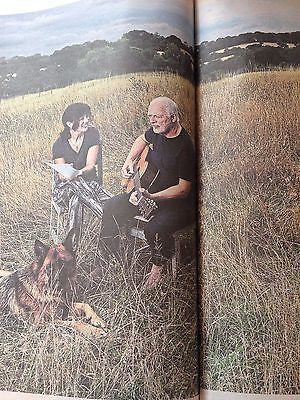 POLLY SAMPSON - DAVE GILMOUR - PINK FLOYD Telegraph Review UK Issue May 2016