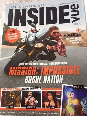 VUE MAGAZINE JULY 2015 TOM CRUISE MISSION: IMPOSSIBLE ROUGE NATION MILES TELLER