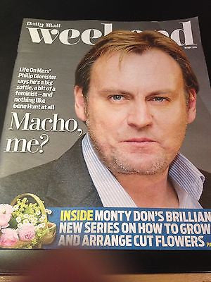 Life on Mars PHILIP GLENISTER COVER INTERVIEW 2014 TRAVIS FIMMEL GABRIEL BYRNE