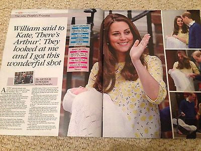 (UK) Sun Magazine 5/10/15 ROYAL BABY PRINCESS CHARLOTTE KATE MIDDLETON SOUVENIR