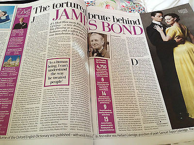 Weekend Magazine February 2014 - JOAN COLLINS Ian Fleming Kim Bodnia James Bond