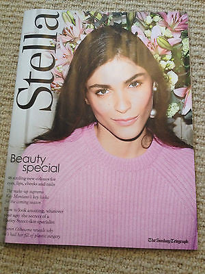 Elisa Sednaoui NEW PHOTO COVER Stella Magazine May 2014 LILY COLLINS