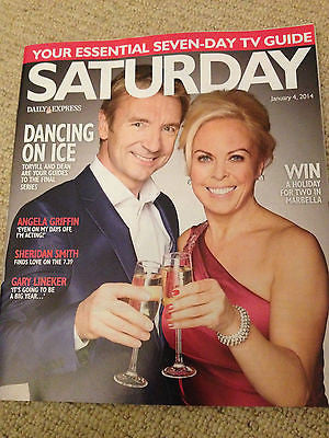NEW Saturday Magazine TORVILL & DEAN Bonnie Langford George Cole Sheridan Smith