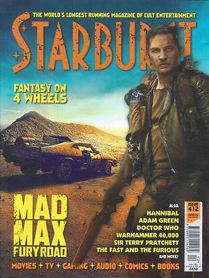 STARBURST MAGAZINE MAY 2015 TOM HARDY MAD MAX FURY ROAD