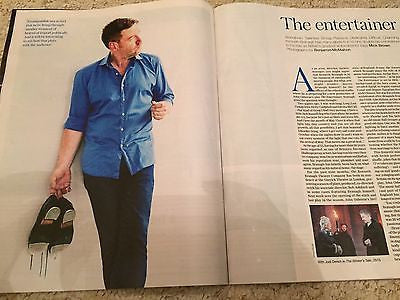 TELEGRAPH MAGAZINE AUGUST 2016 KENNETH BRANAGH Entertainer PHOTO COVER INTERVIEW