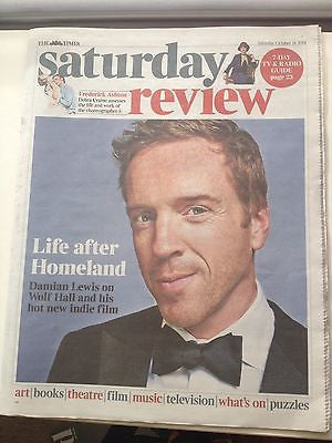 DAMIAN LEWIS Homeland PHOTO INTERVIEW UK ISSUE OCTOBER 2014 KEVIN SPACEY