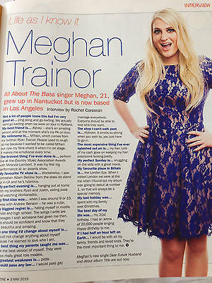 UK S MAGAZINE 2015 - SOPHIE RIDGE - ROMILLY WEEKS - MEGHAN TRAINOR - WILL MELLOR