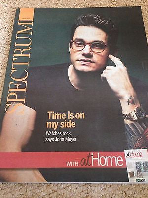 JOHN MAYER PHOTO INTERVIEW UK SPECTRUM MAGAZINE MAY 2015 LAKE BELL