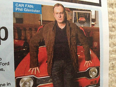JESSICA FINDLAY BROWN interview JAMAICA INN UK 1 DAY ISSUE 2014 PHILIP GLENISTER