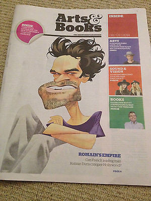 ROMAIN DURIS photo cover interview june 2014