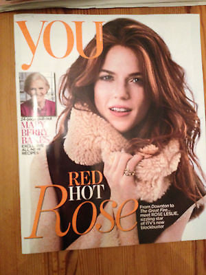 Game of Thrones ROSIE LESLIE PHOTO COVER AUG 2014 SHARON CORR BARBARA HULANICKI