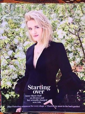 Stella Magazine 21 May 2017 Anne-Marie Duff on James McAvoy interview