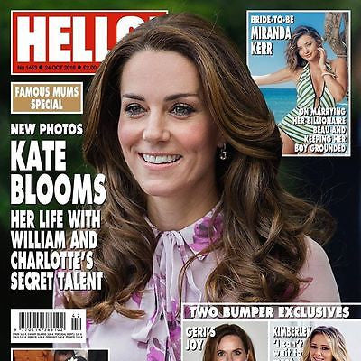 UK Hello! magazine - October 2016 KATE MIDDLETON PHOTO COVER PRINCESS CHARLOTTE