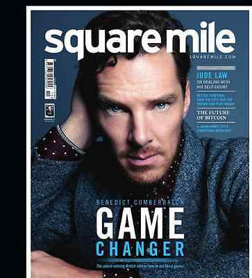 BENEDICT CUMBERBATCH Photo Cover interview SQUARE MILE MAGAZINE 2014
