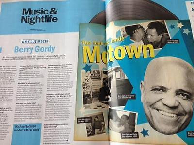 BERRY GORDY interview DIANA ROSS the supremes UK 1 DAY London Only MARCH 2016