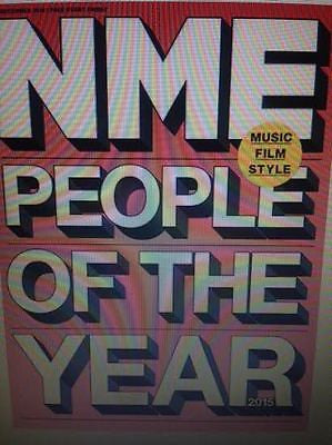 TAYLOR SWIFT MILEY CYRUS RUSSELL HOWARD RICKY GERVAIS NME MAGAZINE DEC 18 2015