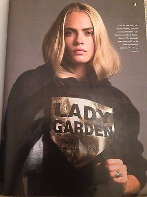 UK STYLE MAGAZINE AUGUST 2016 CARA DELEVIGNE PHOTO COVER INTERVIEW