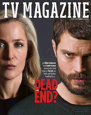 GILLIAN ANDERSON - JAMIE DORNAN - THE FALL UK TV Magazine September 2016