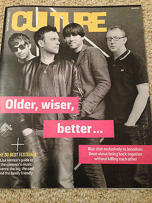 CULTURE MAGAZINE APRIL 2015 BLUR (The Magic Whip) ERIC CANTONA ALAN RICKMAN