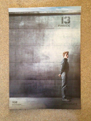 The Hunger Games Mockingjay Part 1 Original D/S UK Movie Poster Finnick/Plutarch