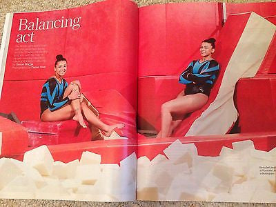 TELEGRAPH magazine 2016 USAIN BOLT Cover Photo Interview - Becky & Ellie Downie