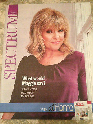 ASHLEY JENSEN KATHRYN JOSEPH GEORGE BENSON SPECTRUM MAGAZINE JULY 2015