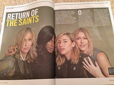 ALL SAINTS PHOTO EXCLUSIVE INTERVIEW OBSERVER MAGAZINE MARCH 2016 UNDERWORLD