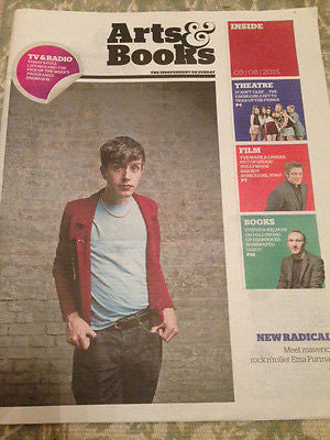 EZRA FURMAN PHOTO INTERVIEW UK MAGAZINE - AUGUST 2015 - BENICIO DEL TORO
