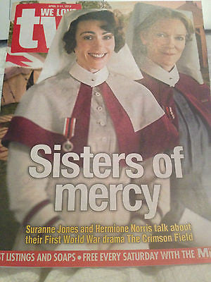 SURANNE JONES HERMIONE NORRIS PHOTO COVER NEW MAGAZINE CLAIRE GOOSE JOHN BRADLEY