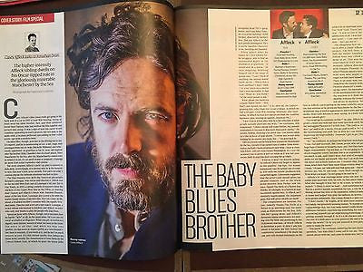 Culture Magazine January 2017 Casey Affleck Wolf Alice Benedict Cumberbatch