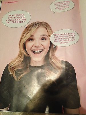 CHLOE GRACE MORETZ PHOTO INTERVIEW SUNDAY TIMES MAGAZINE AUGUST 2014