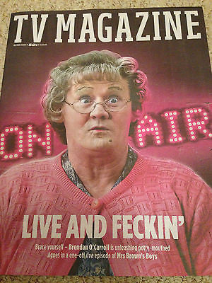 SUN TV Magazine July 2016 BRENDAN O'CARROLL - MRS BROWN'S BOYS PHOTO INTERVIEW