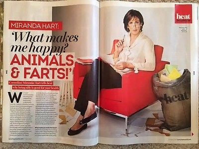 UK Heat Magazine April 2017 Miranda Hart Photo Interview